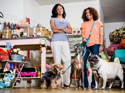 Cliente que frequenta pet shop é rápido e decidido