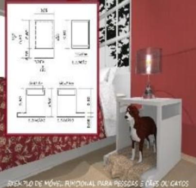 Projetos de 14 Móveis para Cães e Gatos